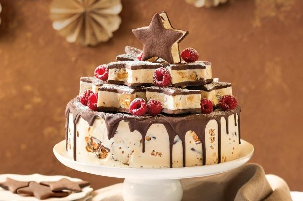 If you're looking for an amazing and easy Dessert for Christmas Day, this Honeycomb Ice Cream Cake should be top of your list.