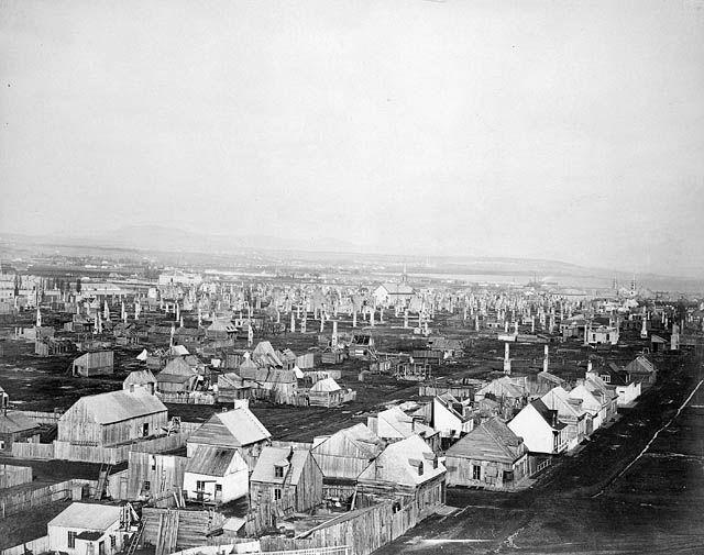 1865- Grand incendie de Québec.
