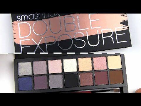Night Out Smokey Eyes | Smashbox Double Exposure Palette Makeup Tutorial - YouTube