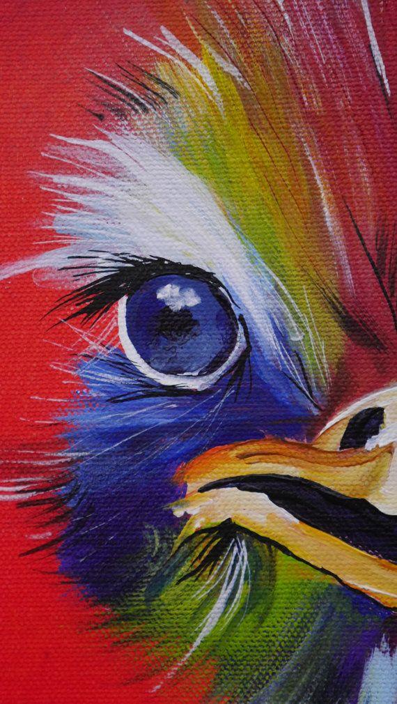 25 beste idee n over vogel doek op pinterest vogel linnen schilderijen doek achtergrond en - Kleur schilderij slaapkamer volwassen foto ...
