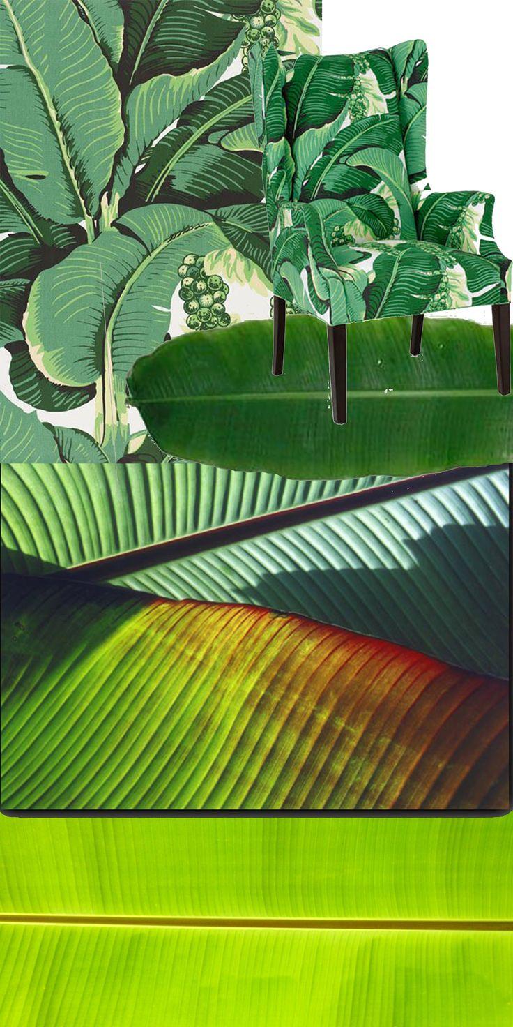 Нам нравятся банановые листья! (и кому-то еще тоже) вспомнилась также на этот счет коллекция Маши Ревы