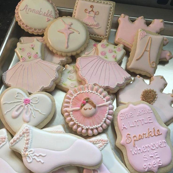 Assorted Ballerina Cookies by TreatsbuyTerri on Etsy