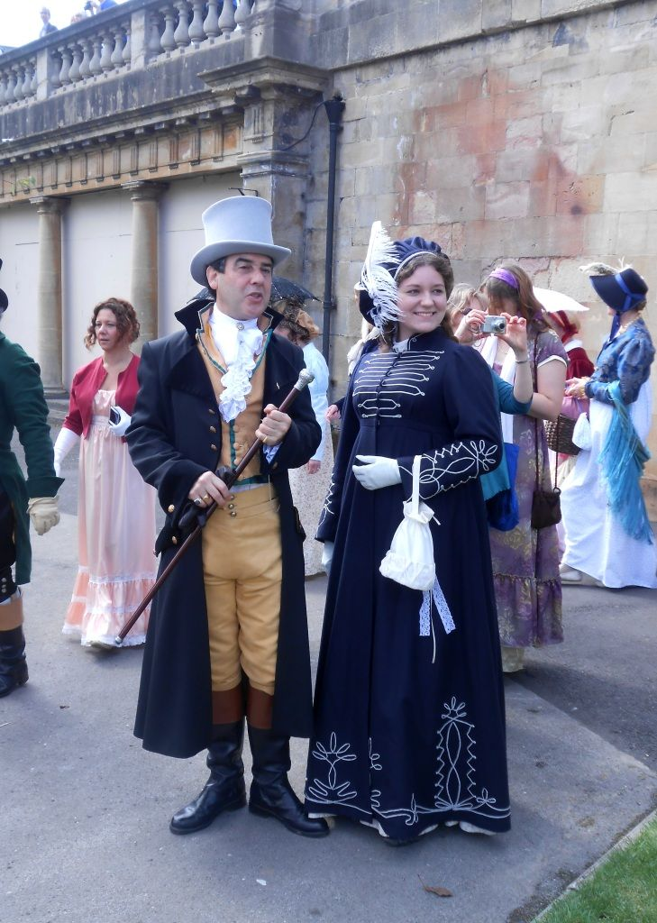 Pretty pelisse at the Jane Austen Festival in Bath 2013