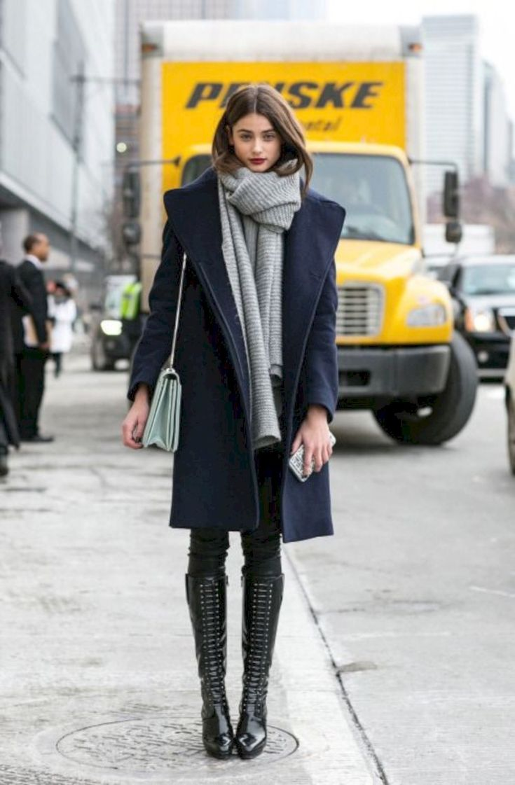 40 Winter Fashion Outfit Ideas for Street Style New York