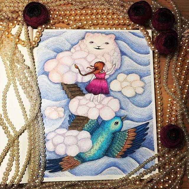 "✍️""Vivi Soker en Van"" by @maria_trolle ❤️ Раскрашено ✏️ Prismacolor #mariatrolle #vivisokerenvan #vivisökerenvän #vivisökerenvänmålarbok #adultcoloringbook #coloring_secrets #målarbokförvuxna #målarbok #bayan_boyan #amazondesenhoscolorir #divasdasartes #coloringbooks #coloring #adultcoloringbook #adultcoloring #blomstermandalamålarbok #boracolorirtop#prismacolor #prismacolorpremier"