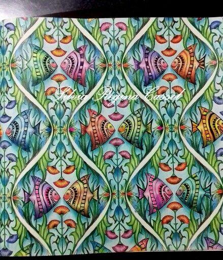 Lost Ocean Fish Pattern