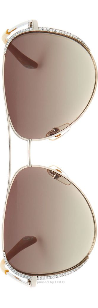 Michael Kors sunglasses- I want these :)) but don't know how they would look...