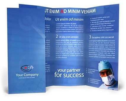 Brochure Templates Free   Free  Premium Medical Brochure