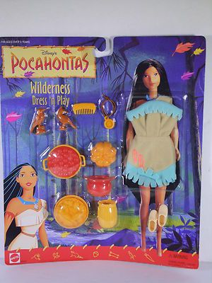 Disney Pocahontas Doll Fashion Dress N Play