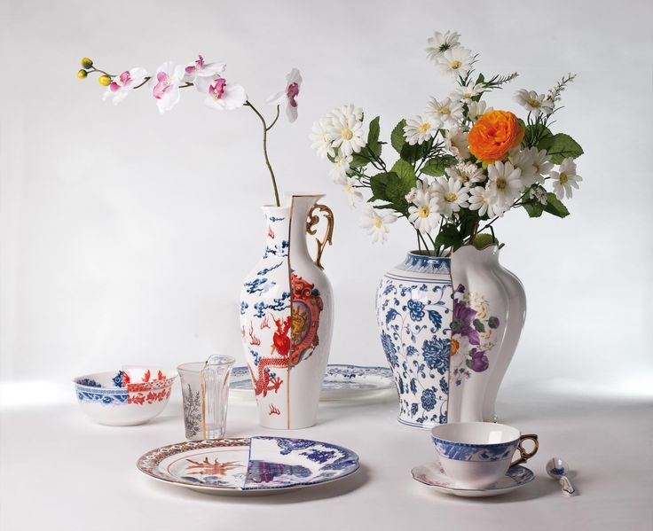 On our table East meet West culture, Hybrid Collection - Seletti