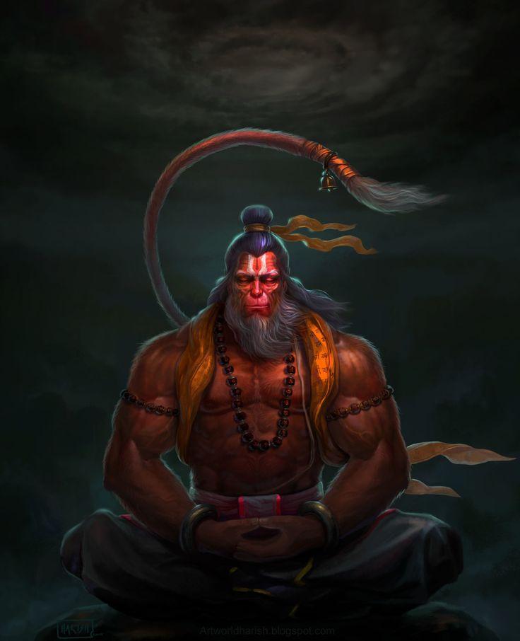 Hanuman, HARISH MOGER