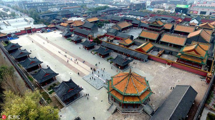 Mukden Palace(Shenyang palace), 1627. China
