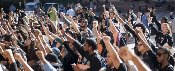 UCLA students protest Ferguson grand jury decision | Daily Bruin