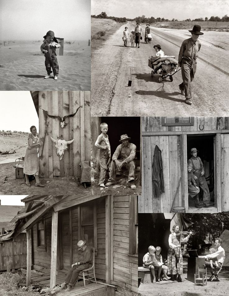pictures of the dust bowl in the 1930's Yahoo Image