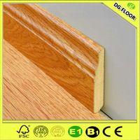 Pavimentos MDF Rodapiés de madera laminada