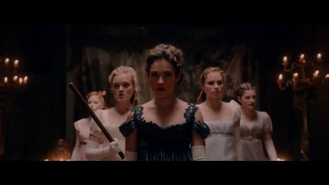 Visit nameofthesong for the music of: Pride and Prejudice and Zombies (2016) - UK Teaser Trailer