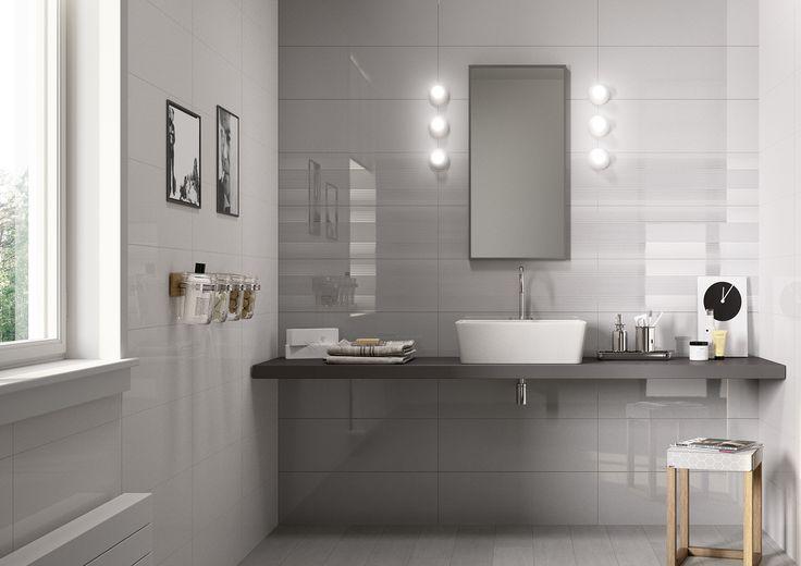 #Colourline | ceramic tiles for bathroom coverings #Marazzi #ModenaFliser