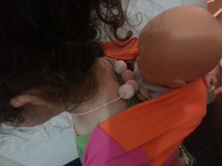 nursing necklace per vere piccole mamme koala!