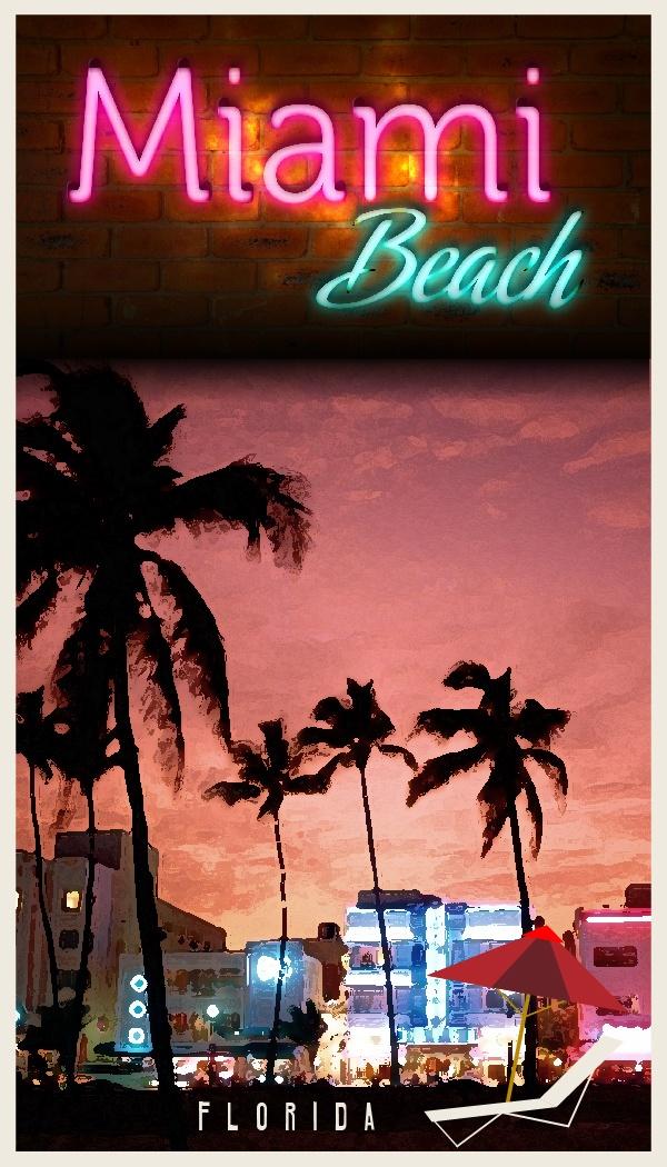 La ciudad de #Miami es reconocida internacionalmente por su vida nocturna. Elije tu hotel en Miami y disfruta de la noche de Florida