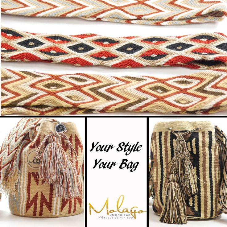 Your Style - Your Wayuu Bag www.molago.de  #Wayuu #Bag #Fashion #Tasche #Mode #Handmade #handgemacht #Kolumbien #Colombia #Südamerika #Molago #Mochilawayuu #Mochila #Wayuumochila