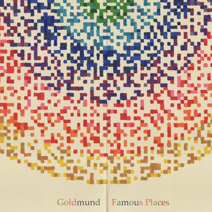 Famous Places marks the third full-length release by composer Goldmund (aka Keith Kenniff/Helios) and the second release for Texas-based record label Western Vinyl. A graduate of Berklee College of Music with a degree in percussion, Kenniff focuses his Goldmund project instead on solo piano, mixing the delicate composition of composers such as Erik Satie and Harold Budd with a quiet and elegant simplicity.