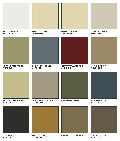 House Exterior Siding Color Scheme | James Hardie Siding with ColorPlus® Technology - Siding Contractors ...
