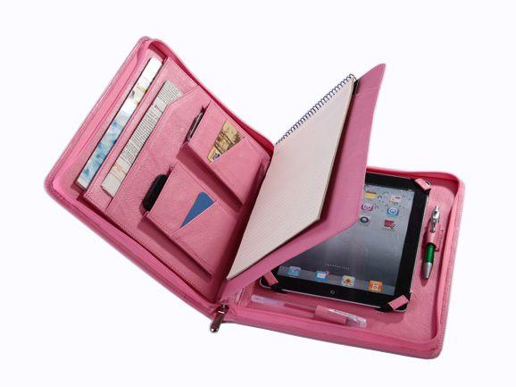Apple iPad mini Padfolio with Notepad Briefcase for mini iPad