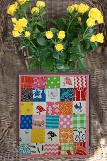 Jane's creationToppers Blog, Blog Hop, Hop April, Tables Toppers, Minis Quilt, April 2012, Jane Creations, Zz Quilt
