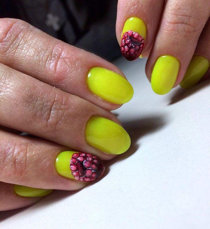 люди дизайн ногтей фрукты ягоды фото что сегодня