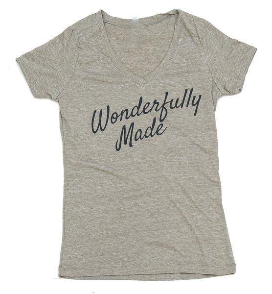 Ik ben prachtig gemaakt shirt > Psalmen 139 > christelijke shirt > verheerlijken God > angstig maakte > wonderlijk gemaakt