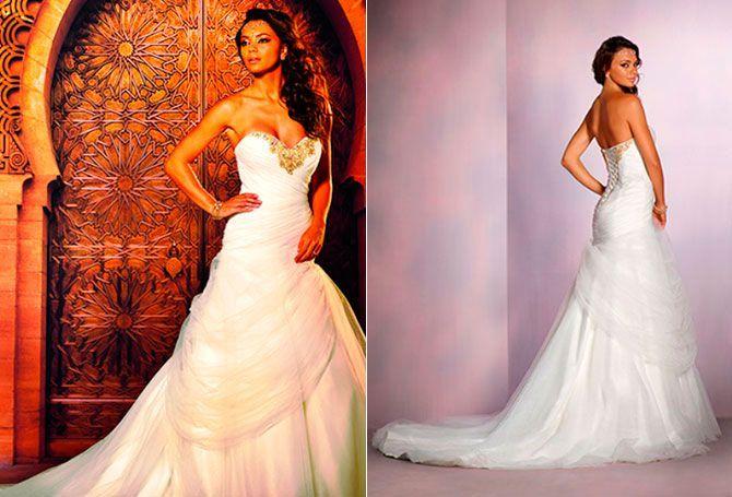 """Jasmine: inspirado en la novia de 'Aladdin', este vestido se describe como """"exótico y aventurero""""."""