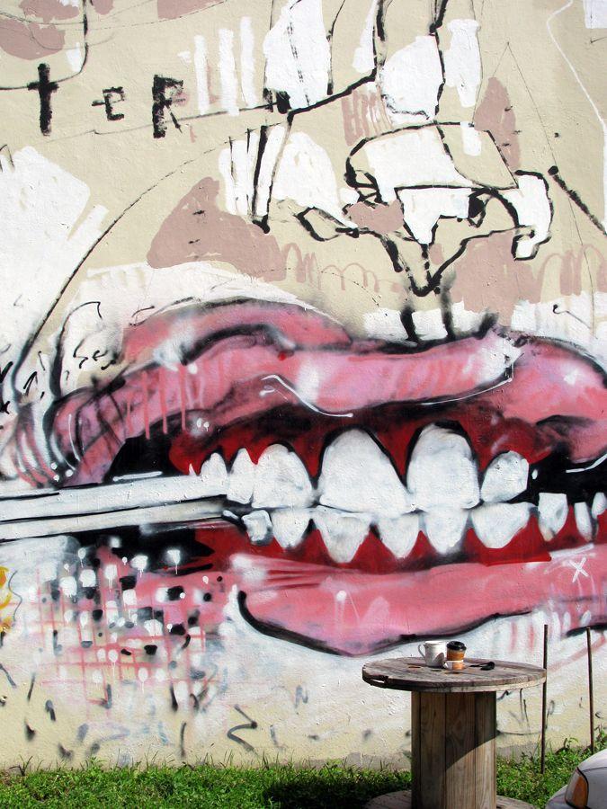 anthony lister, street art, graffiti,