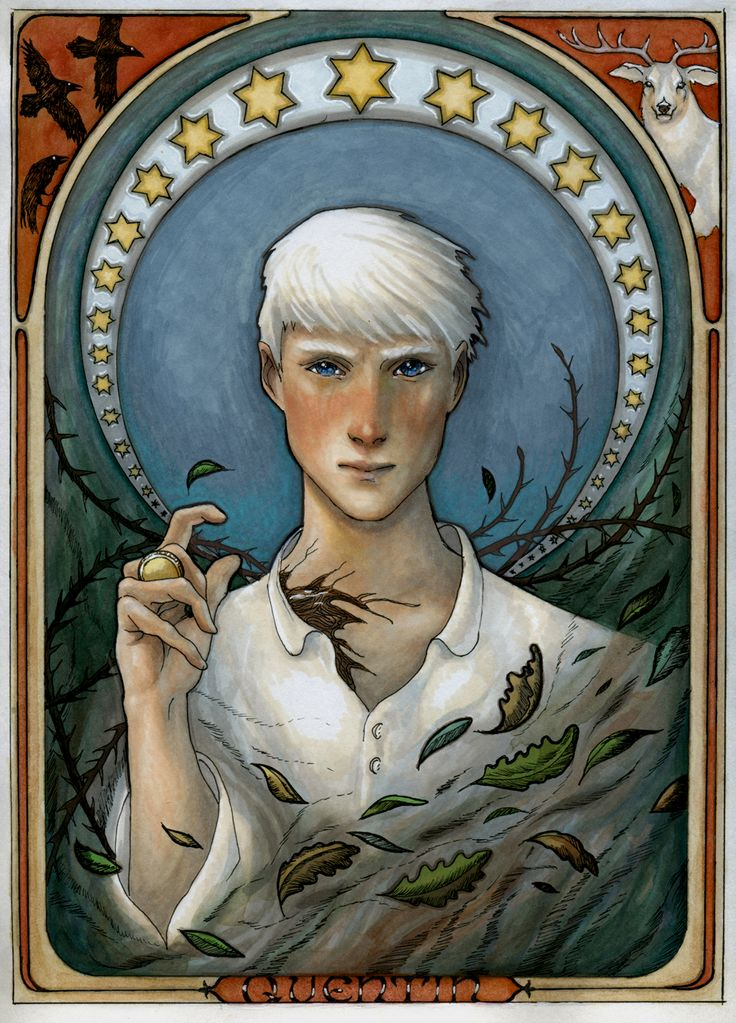 Quentin, to the life, by Cecilia Bohlin from The Magicians by Lev Grossman.