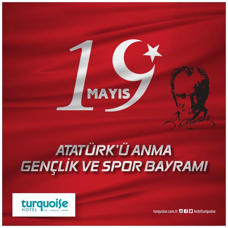 19 Mayıs Atatürk'ü anma gençlik ve spor bayramı kutlu olsun..