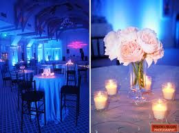 blue wedding lighting - Google Search