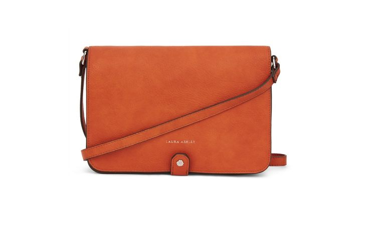 Minimal Cross Body Bag. Add a pop of colour to your outfit. #LauraAshley
