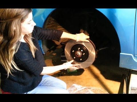 Today we Demonstrate How to Change Worn-Out Brake Pads and Rotors on Our Mazdaspeed 3! Join our Community of DIY'ers: http://www.youtube.com/user/everythingd...
