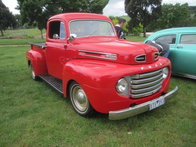 The History of Ford F-Series Trucks: Ford F-Series Pickup Trucks: 1948-1952