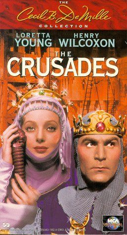 """THE CRUSADES"" (1935) LORETTA YOUNG, HENRY WILCOXEN, ALAN HALE SR."