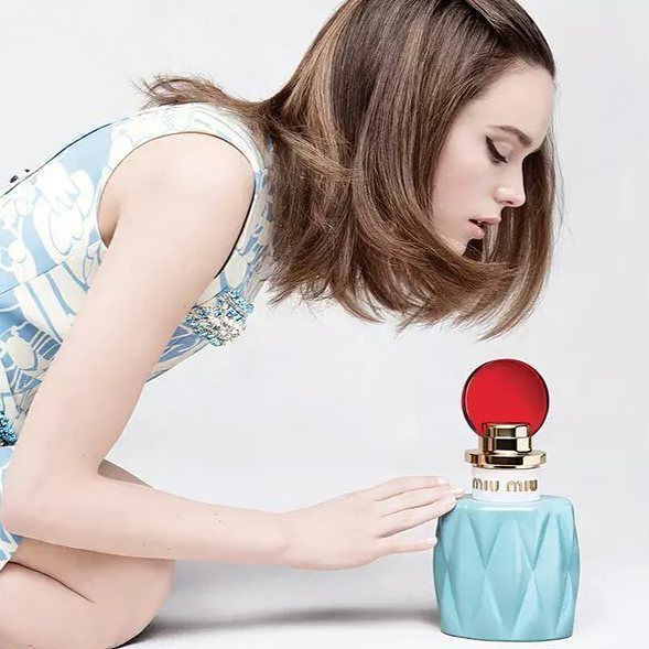 """MIUMUSE"" the very first fragrance MIU MIU  Available Fall 2015 NB X"