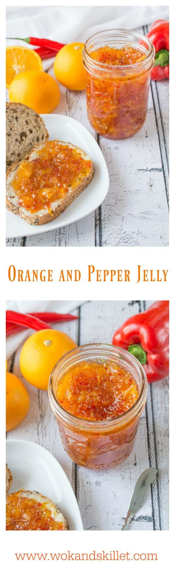 Orange and Pepper Jelly is a unique, tasty blend of orange marmalade with red…
