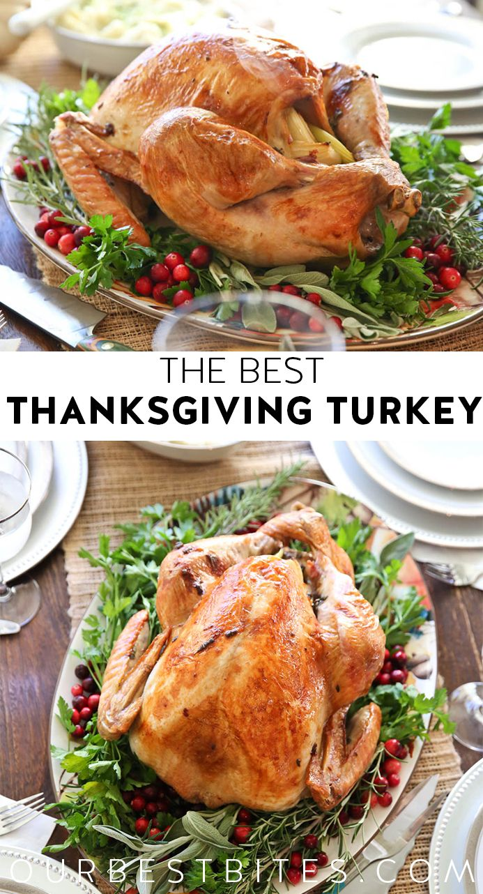 The Best Thanksgiving Turkey Recipe from Our Best Bites Pin This Delicious Recipe Today For Your Thanksgiving Feast!