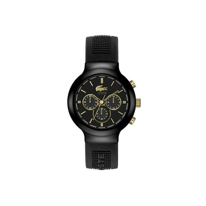 Svart klocka från Lacoste