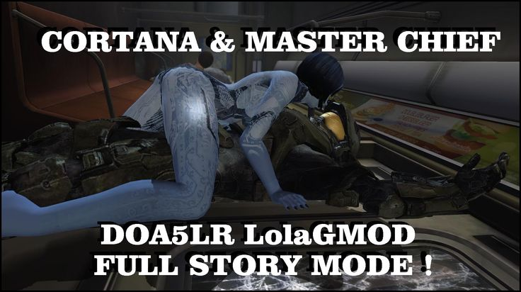 DOA5LR HALO MOD - MASTER CHIEF & CORTANA (V1.2) FULL STORY MODE  (Englis...
