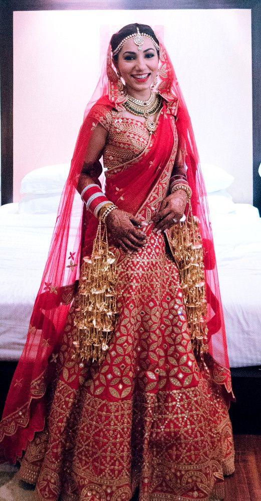 Red Mirror Work Bridal Lehenga Wedding Clothes Pinterest And