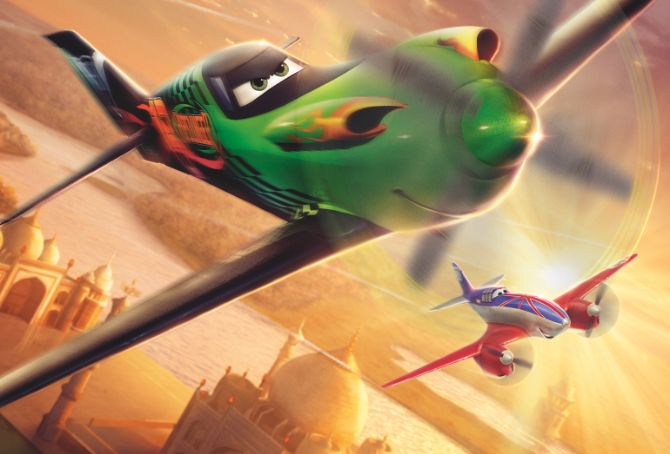 Exclusive Planes Character Banner | Articles