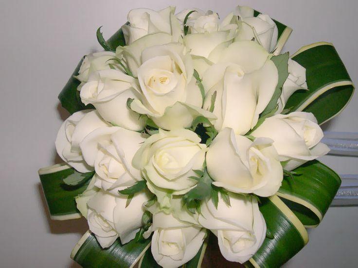 Ramos de novia de rosas para m s informaci n ingresa en - Significado rosas blancas ...