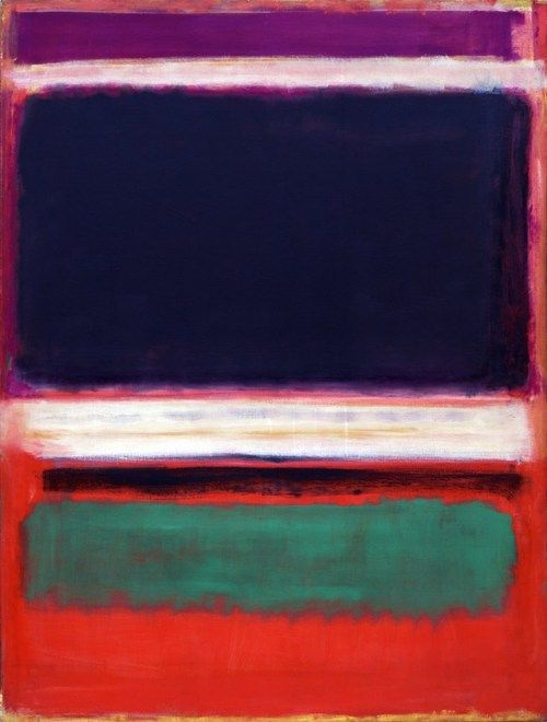 Mark Rothko. No. 3/No. 13, 1949. Oil on canvas, 7′ 1 3/8″ x 65″. The Museum of Modern Art, New York.