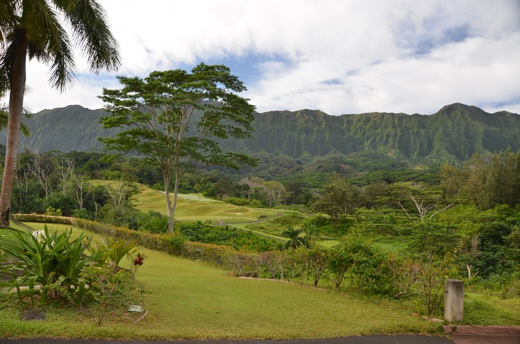 Royal Hawaiian (formerly) Luana Hills golf course in the Ko 'Olau mountains. Bring plenty of balls and your camera!