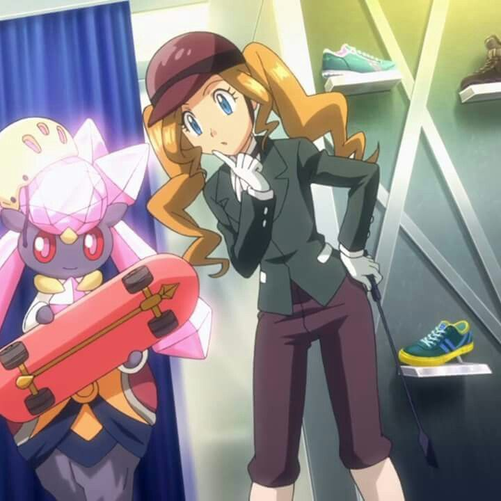 Serena and Diancie